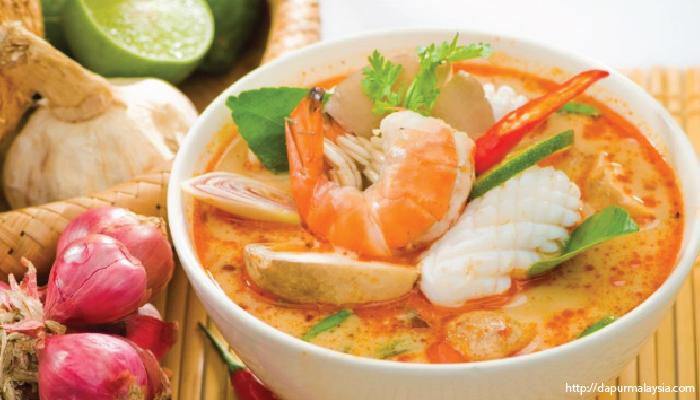 อาหารไทย ต้มยำทะเล