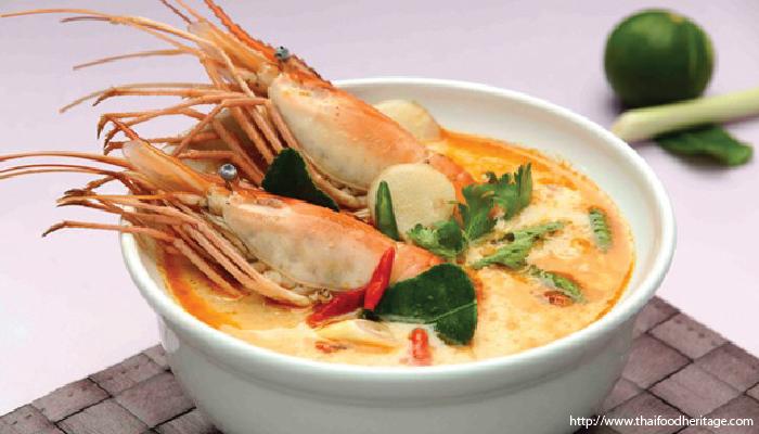 อาหารไทย ต้มยำกุ้ง
