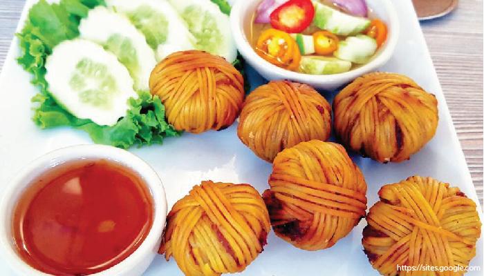 อาหารไทย หมูโสร่ง
